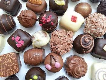 Delicious handmade truffles